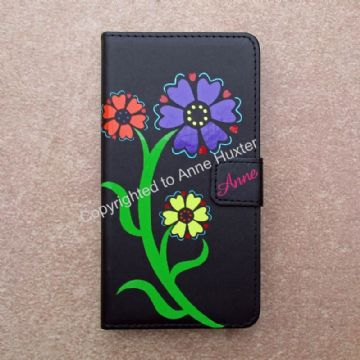 Flower Phone Case Decal Template